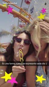 Marcas que usan Snapchat