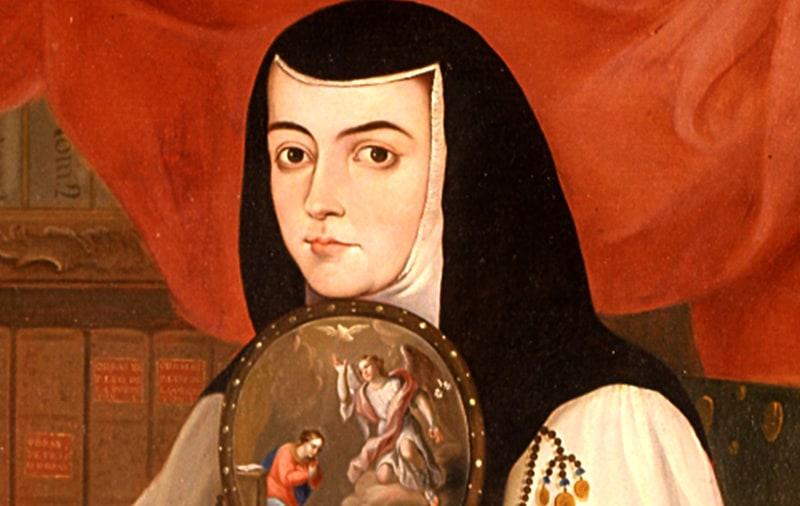 sor juana inez de la cruz A los catorce años sor juana inés de la cruz ya era admirada por su talento, y solicitada por la esposa del virrey antonio de toledo para ser su dama de honor.