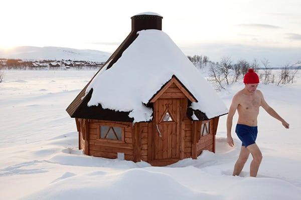 Sauna Finlandía Finés