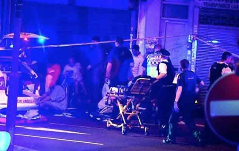 Un arresto tras choque de vehículo contra peatones — Londres