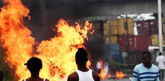 Protestas en Buenaventura Colombia