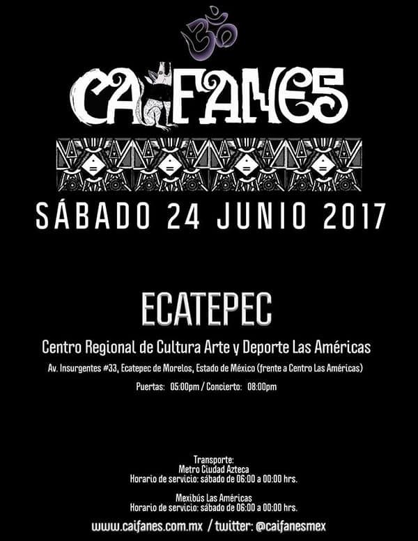 Caifanes en Ecatepec