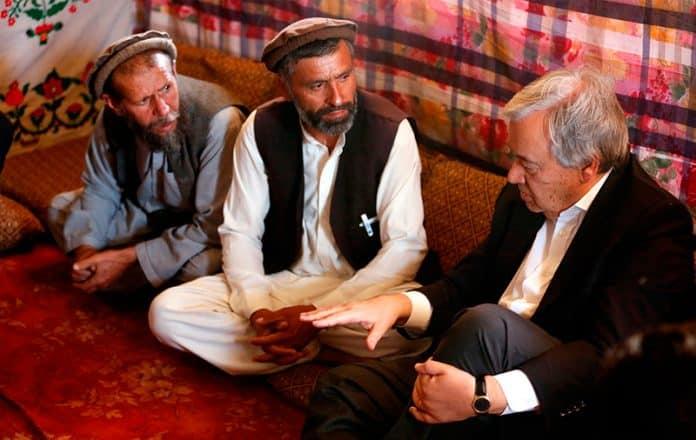 Crisis en Afganistán