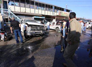 Ataque suicida en Musayib, Irak