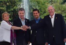 Cumbre alianza del pacífico 2017