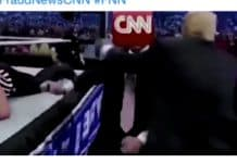 CNN responde a tuit y video violento de Donald Trump