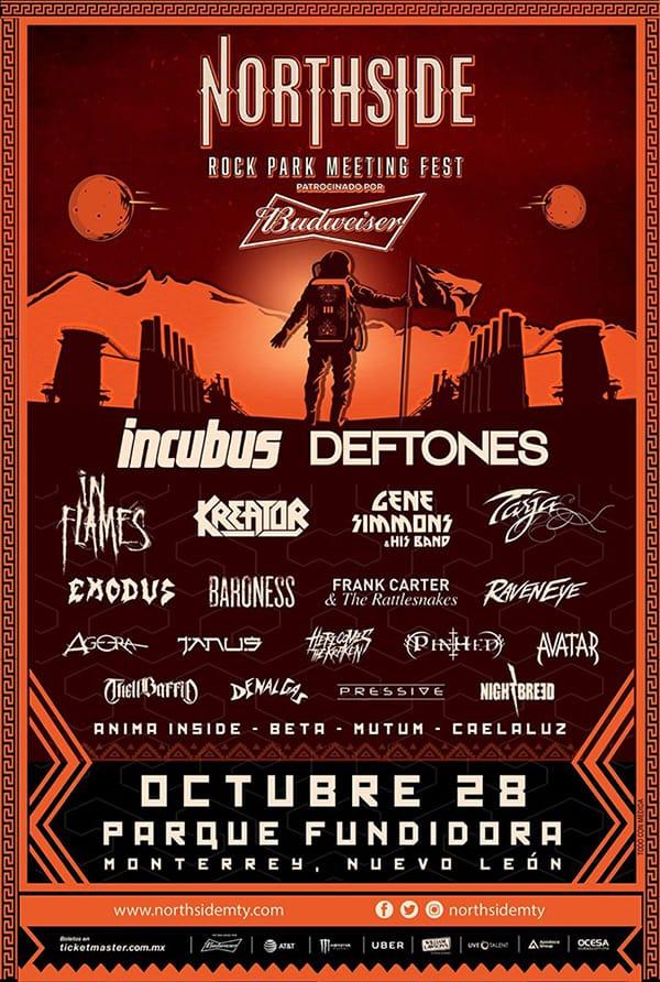 Festival Northside 2017 en Monterrey