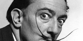 bigote de Salvador Dalí