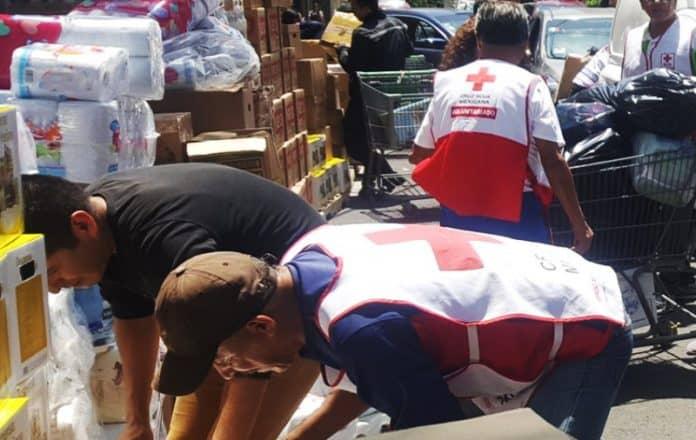 Damnificados por el terremoto