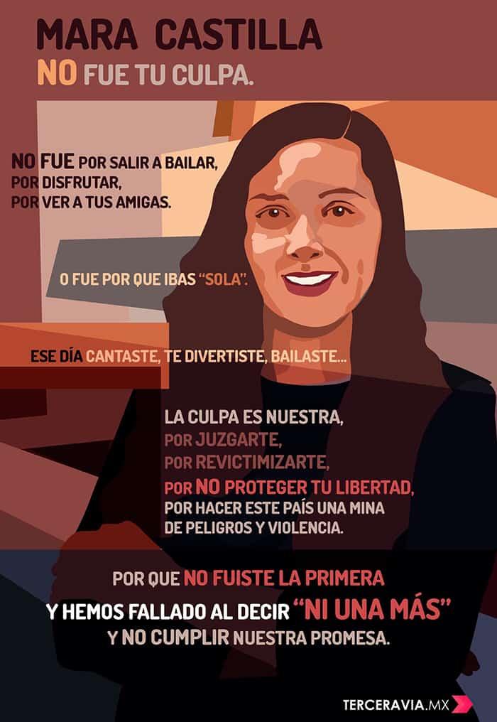 Marchas en apoyo a Mara Castilla