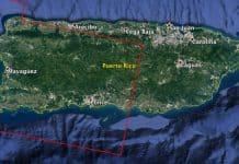Mapa NASA daños en Puerto Rico