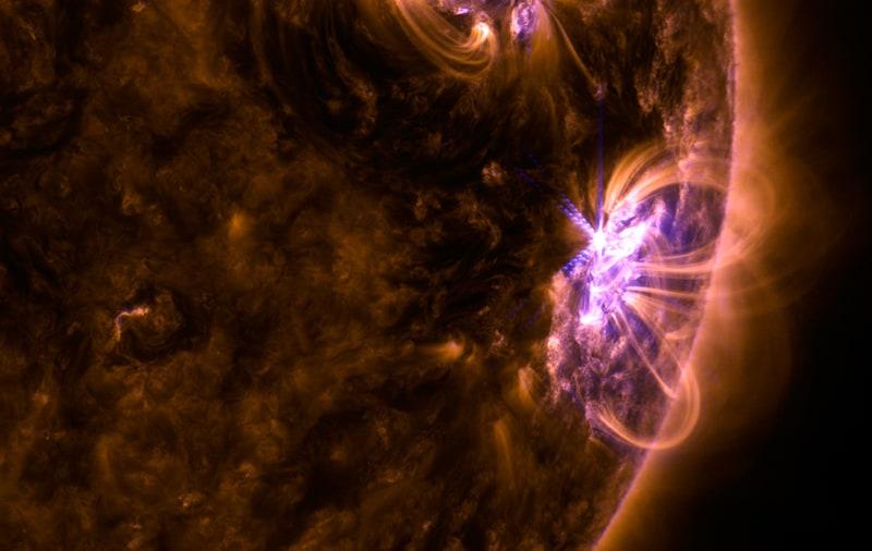 Detectan la llamarada solar más potente del último decenio
