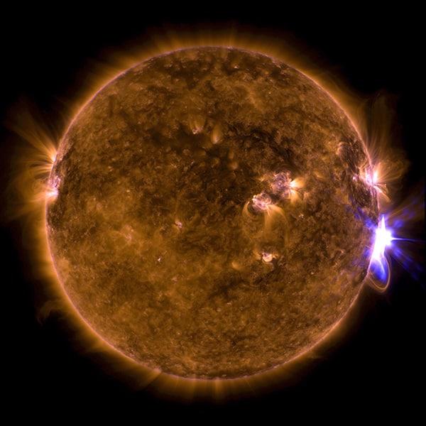 Las llamaradas del Sol