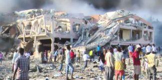 ataque terrorista en ataque terrorista en Mogadiscio, capital de Somalia