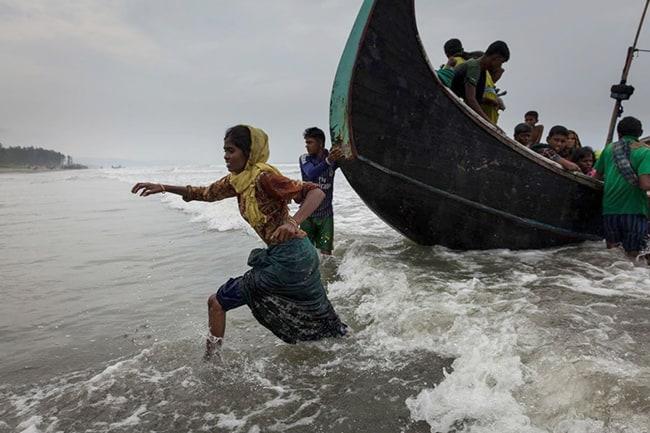 refugiados rohingya Birmania