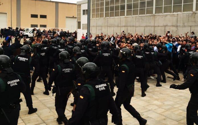 Cataluña referendum represión