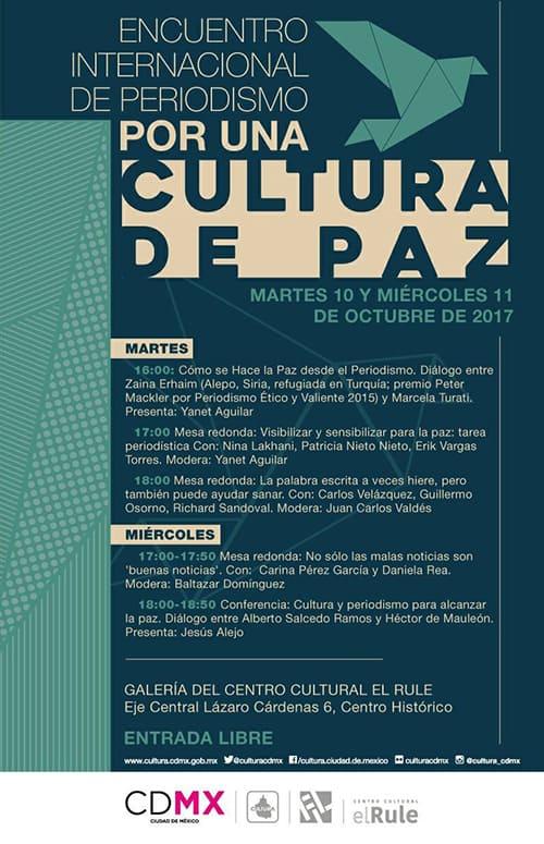 FIL Zócalo 2017 en la CDMX, Cultura Solidaria