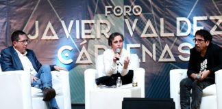Carmen Aristegui levanta la voz en la FIL Zócalo 2017