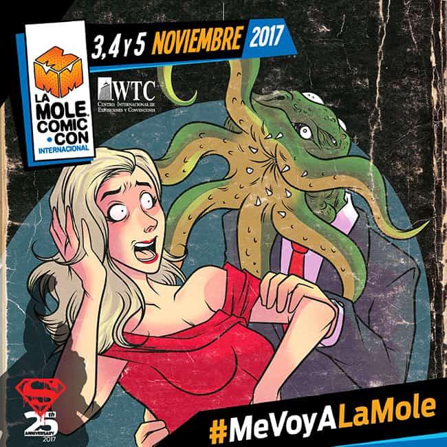 La Mole Comic Con Noviembre 2017 México