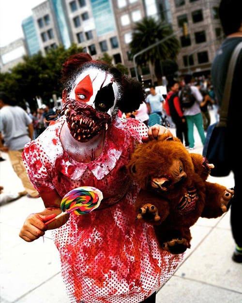 Marcha Zombie CDMX 2017
