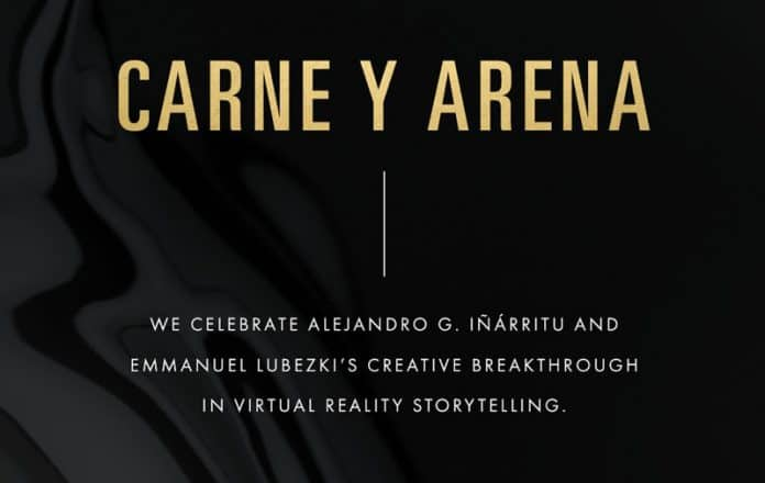 Premio Oscar para Carne y arena