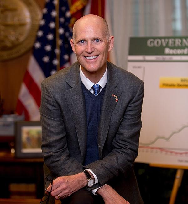 Gobernador de Florida Rick Scott Venezuela