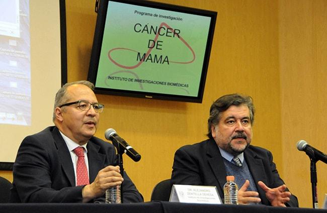 Biomarcadores tempranos cancer de mama UNAM