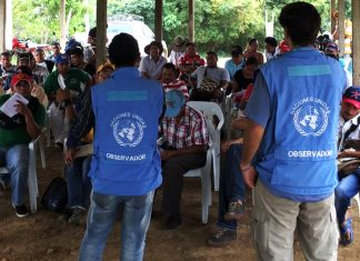 violencia en Colombia acuerdo de Paz