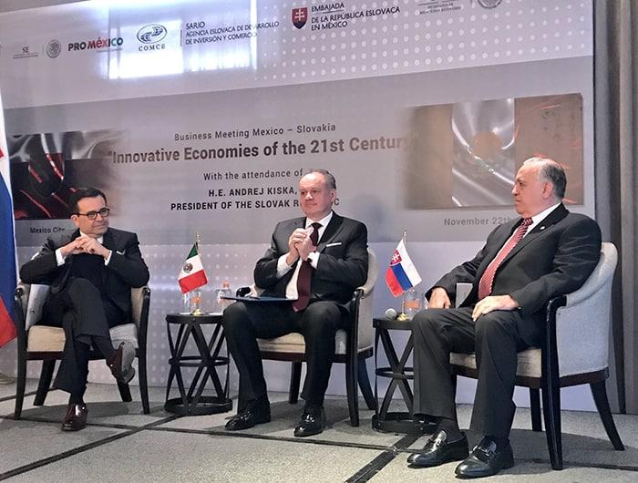 Encuentro bilateral de Negocios México-Eslovaquia