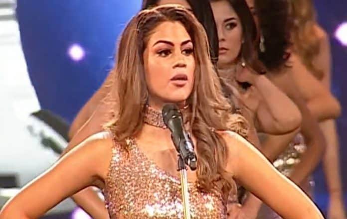 Miss Perú 2018 feminicidios