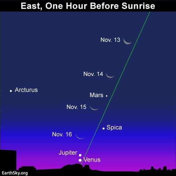Venus y Jupiter paridad