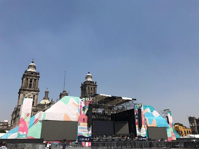Caifanes cumplen sueño de tocar en el Zócalo