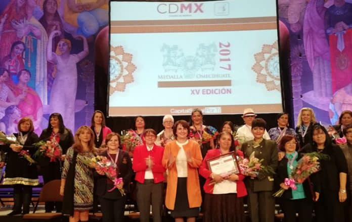 Medalla Omecíhuatl 2017 igualdad de género