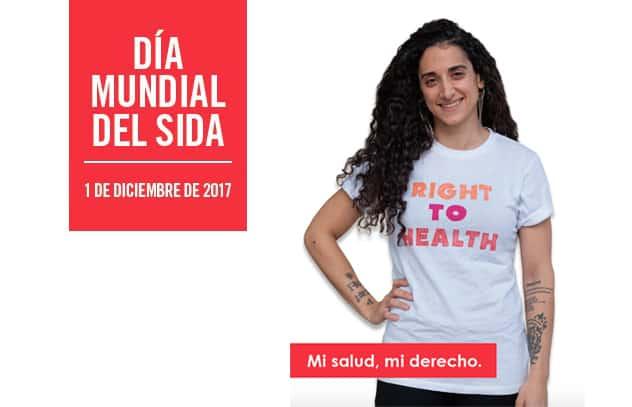 Día Mundial del Sida 2017, Mi salud, mi derecho