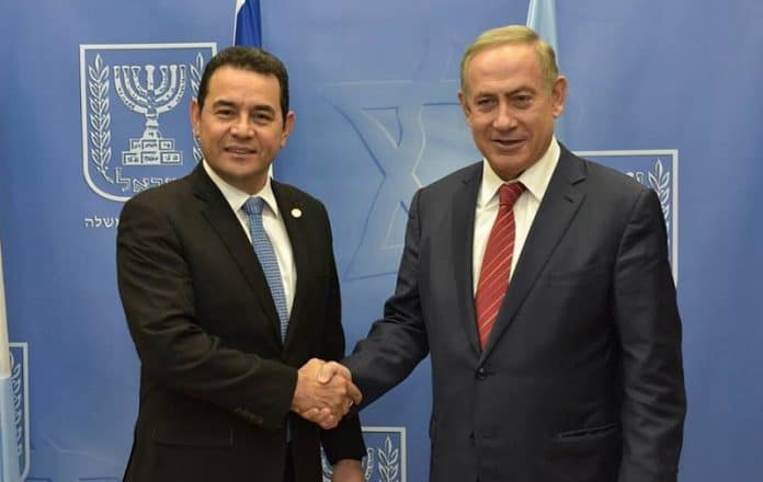 Guatemala apoya a Israel