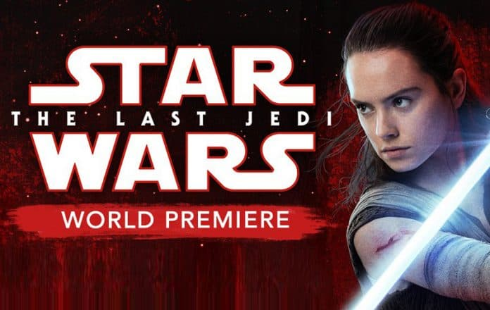 Estreno mundial de Star Wars: The Last Jedi