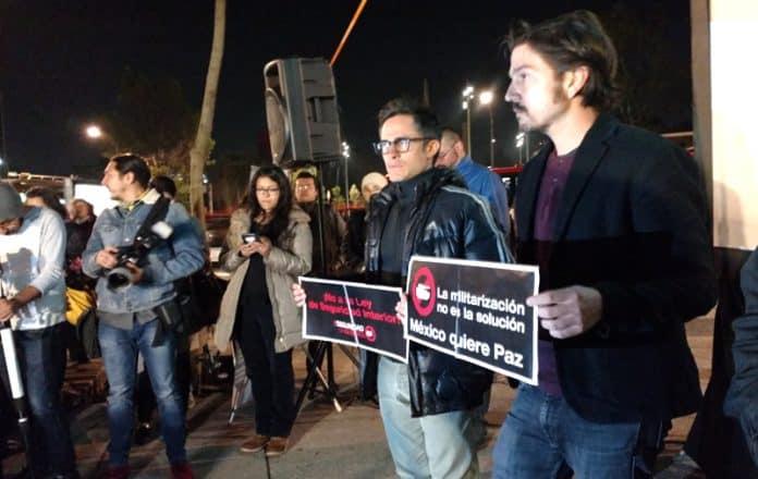 CNDH Ley de Seguridad Interior Diego Luna