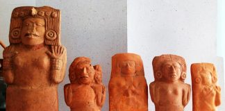 mujer maya figuras Jonuta Tabasco