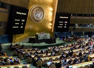 México se abstiene en la ONU en el caso EU y Jerusalén