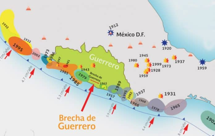 red sismo geodésica - UNAM Geofísica