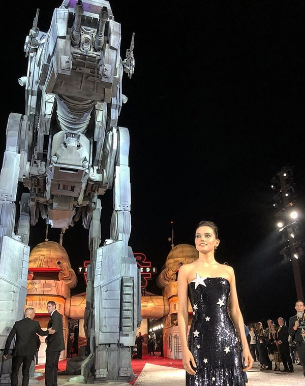 Premier mundial de Star Wars: The Last Jedi