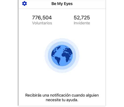 Be My Eyes Se mis ojos app