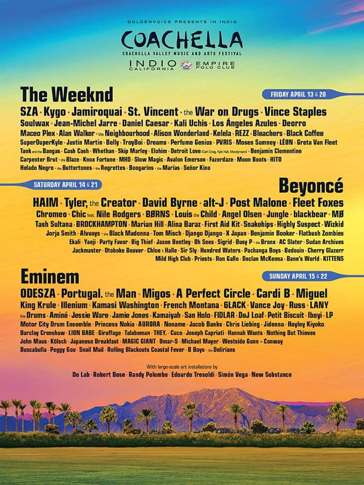 Los Ángeles Azules en el Festival de Coachella 2018