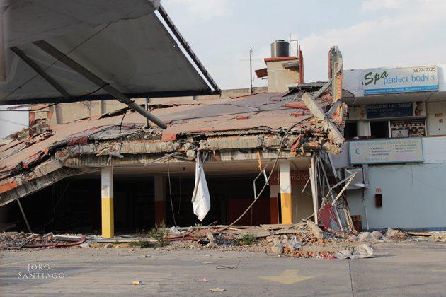 A cuatro meses del sismo, Villa Coapa