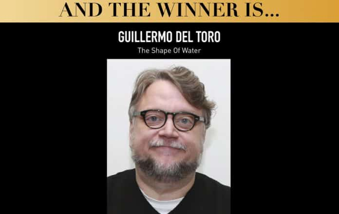Guillermo del Toro y Coco Premios Globo de Oro 2018