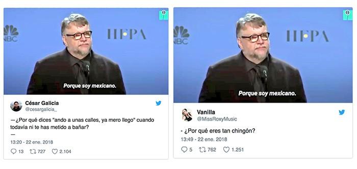 Calle Guillermo del Toro petición