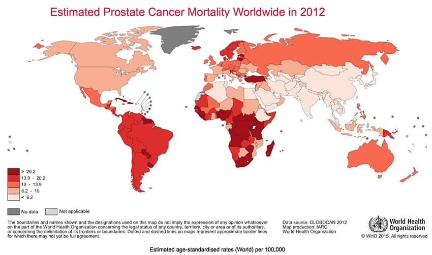 prueba genética para detectar cáncer de próstata