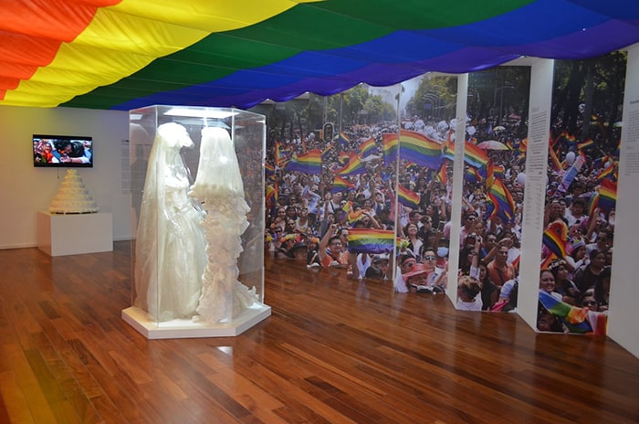exposición LGBT+: Identidad, amor y sexualidad