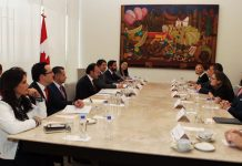 Canciller Videgaray y Ministra Freeland
