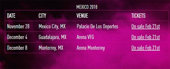 Roger Waters México 2018 gira 'Us + Them'